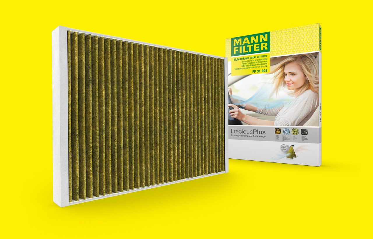 Cabin air filter FP31003 against pollen, dust and allergens