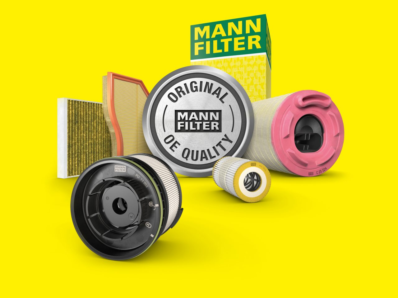 Automotive aftermarket: filters in OE quality by MANN-FILTER