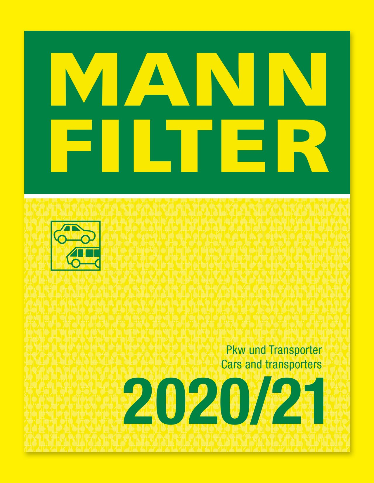 MANN-FILTER catalog for cars and transporters