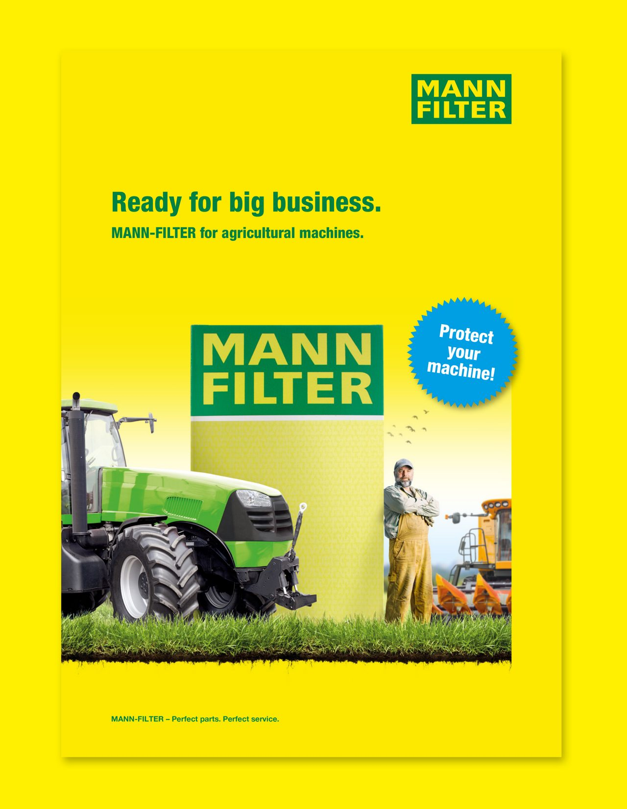 Discover the MANN-FILTER products for agricultural machines