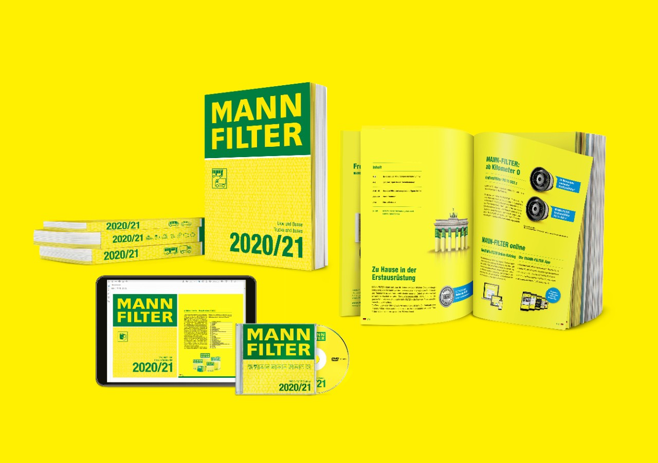 MANN-FILTER catalogs