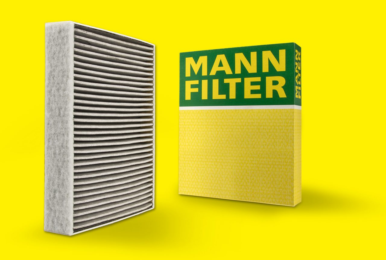 Cabin air filters with activated carbon filter extract up to 95% of harmful particulate.